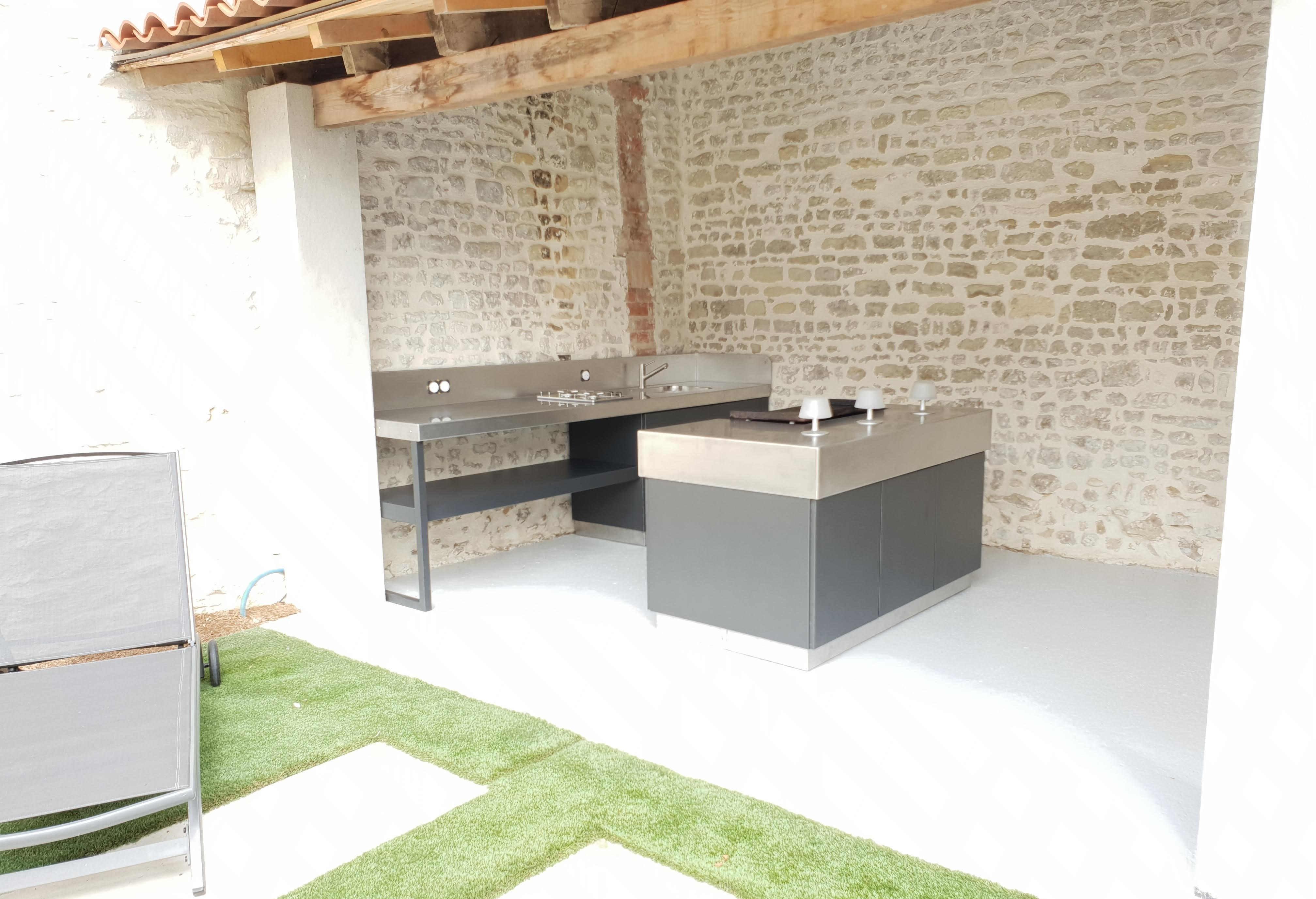 Ma Cuisine Exterieure Sur Mesure By Atlantic Inox Made In France
