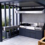 J'aime cuisiner en extérieur sur ma terrasse Nantes Atlantic Inox