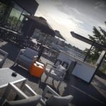 ROOFTOP MONTPELLIER snacking restaurant camping cabanne tapas Atlantic Inox