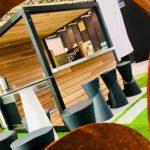 Un abri cuisine plancha Bordeaux Atlantic Inox