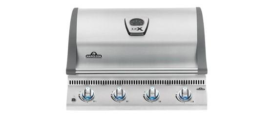 Grills napoléon BILEX485RB Atlantic inox cuisine extérieur