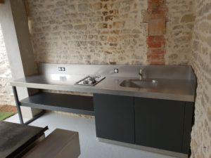plaque de cuisson cuisine sous pool house La rochelle ile de ré atlantic inox-min