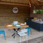 Cuisine d'été Élégance 2.0 avec plancha